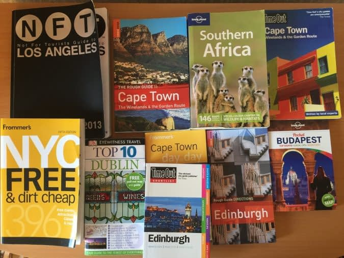Best Travel Guide Books I Recommend
