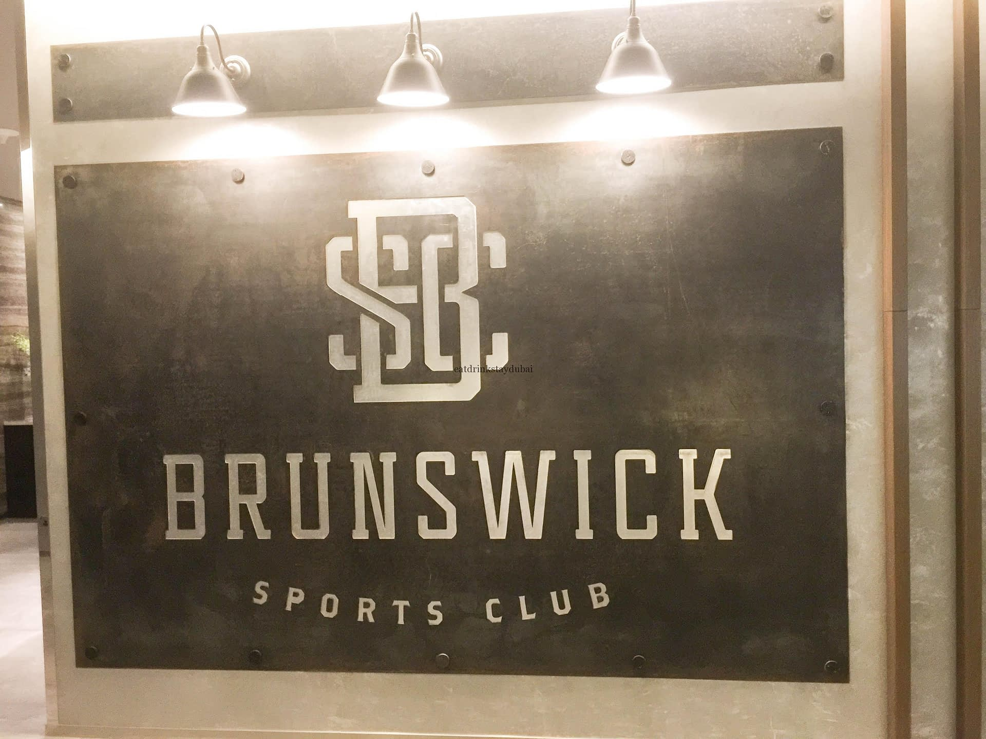 Brunswick Sports Club Sign