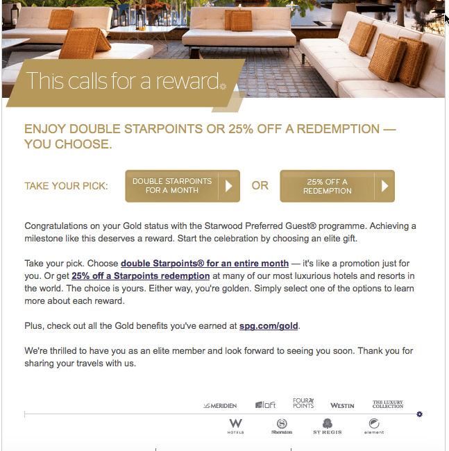 Earning SPG Status: Shortcuts to Gold or Platinum