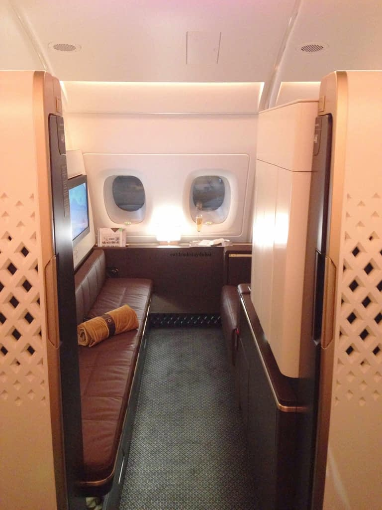 Travel Like a Rockstar: Etihad A380 First Class Apartment