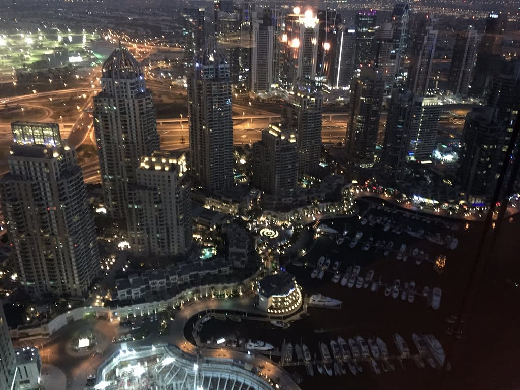 Eat Drink Stay Dubai - Dubai Marina night