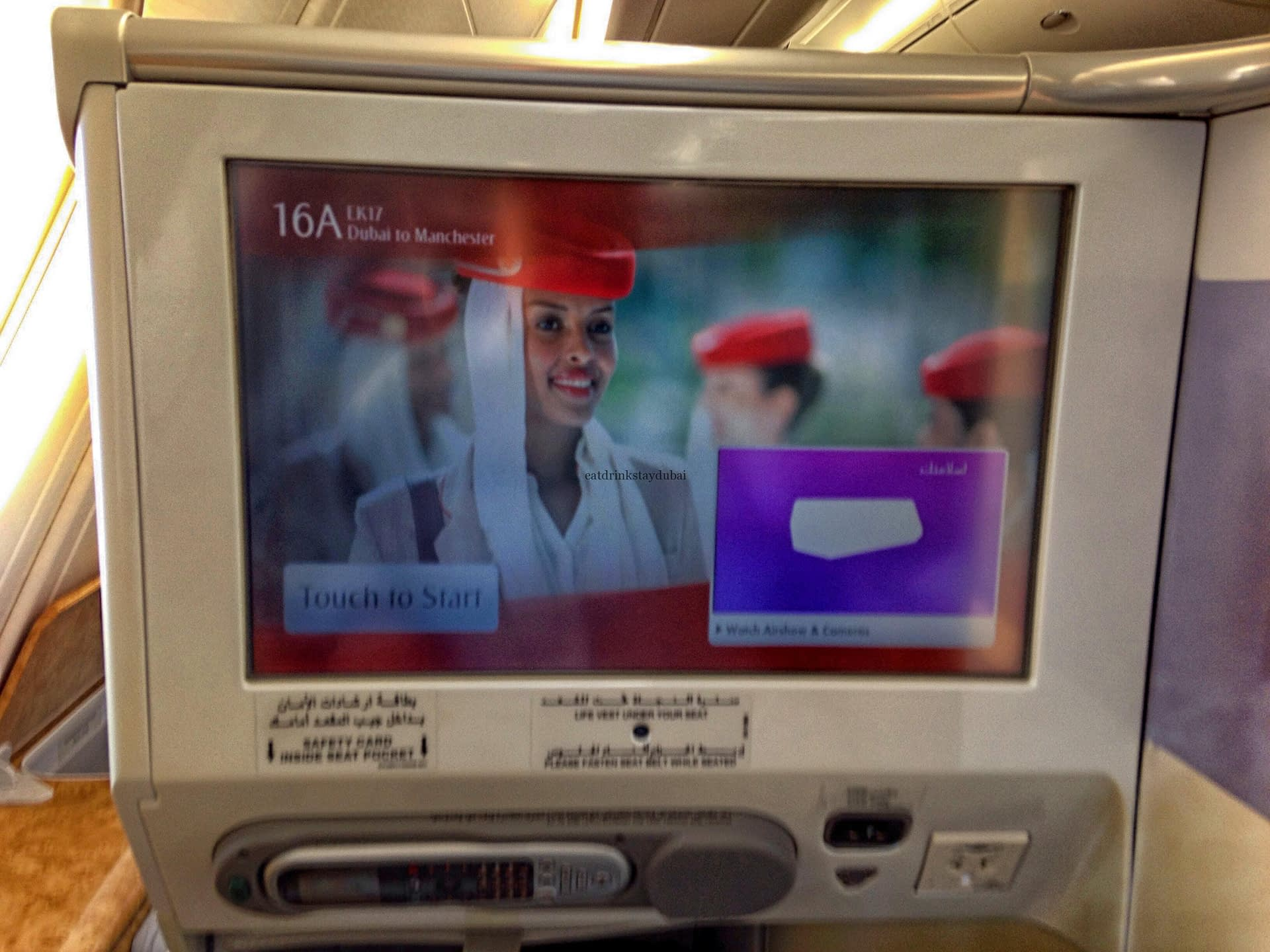 Avoid Emirates seat charges - without flying Business Class