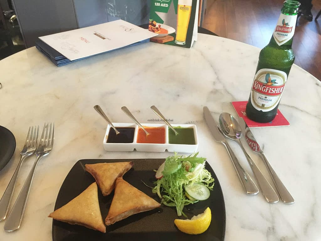 Spice & Ice Restaurant and Lounge meal samosas