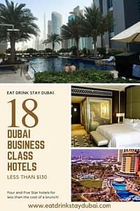 Business Hotels Dubai - 18 Dubai hotels less than $130